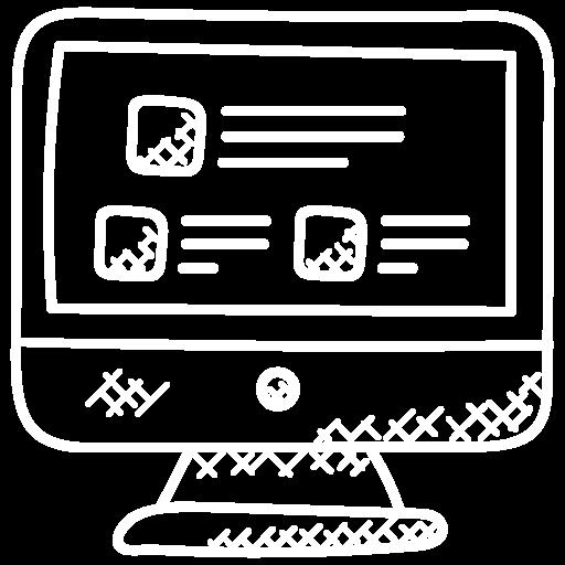 HR-Services, Abbildung Computer Bildschirm