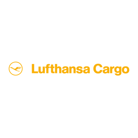 Lufthansa Cargo, Logo und Schriftzug