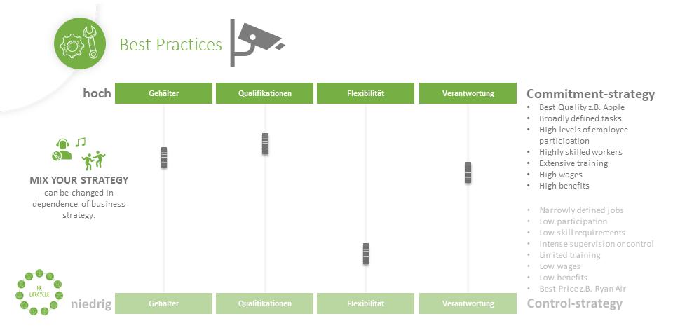 HR Lifecylce Komponenten Elevator Pitch HR Strategie and Governance Best Practices