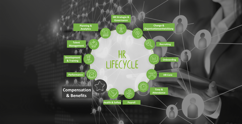 HR Lifecycle Komponente Compensation & Benefits