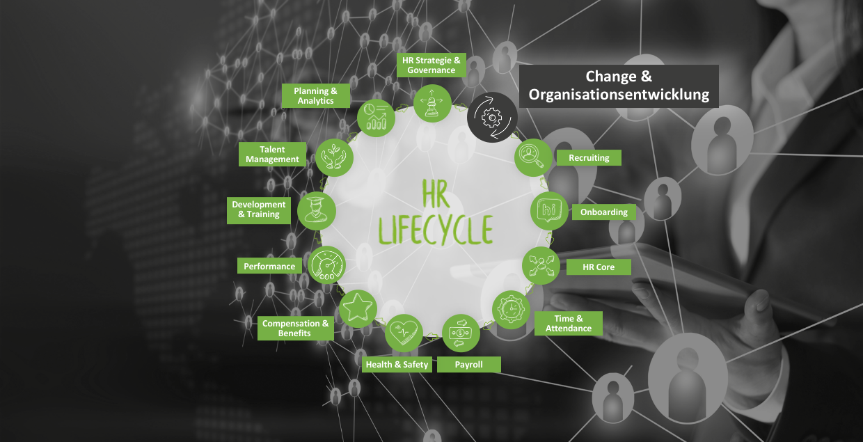 Change & Organisationsentwicklung im HR Lifecycle